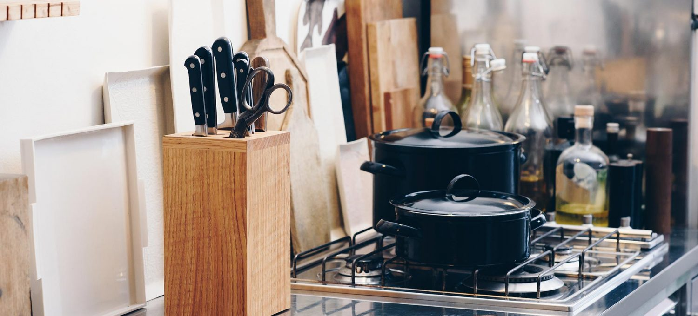 Side by Side Stimmungsbild Küche