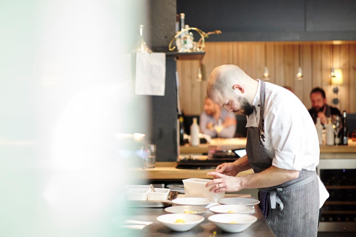 Head Chef Micha Schäfer